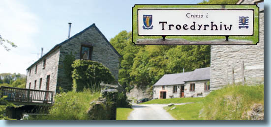 The picturesque village of Troedyrhiw, Glamorgan, South Wales.