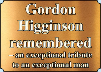 Gordon  Higginson  remembered  – an exceptional tribute  to an exceptional man