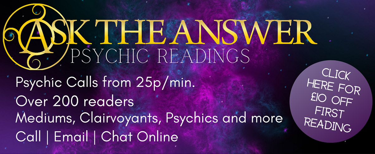 Psychics, Mediums, Clairvoyants and Tarot Readers at Ask The Answer