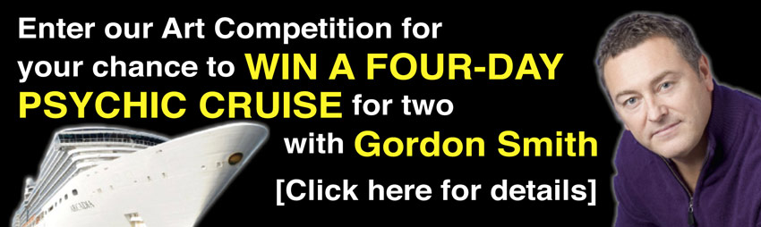 Enter our Art Competition – For your chance to win a four-day Psychic Cruise with Gordon Smith