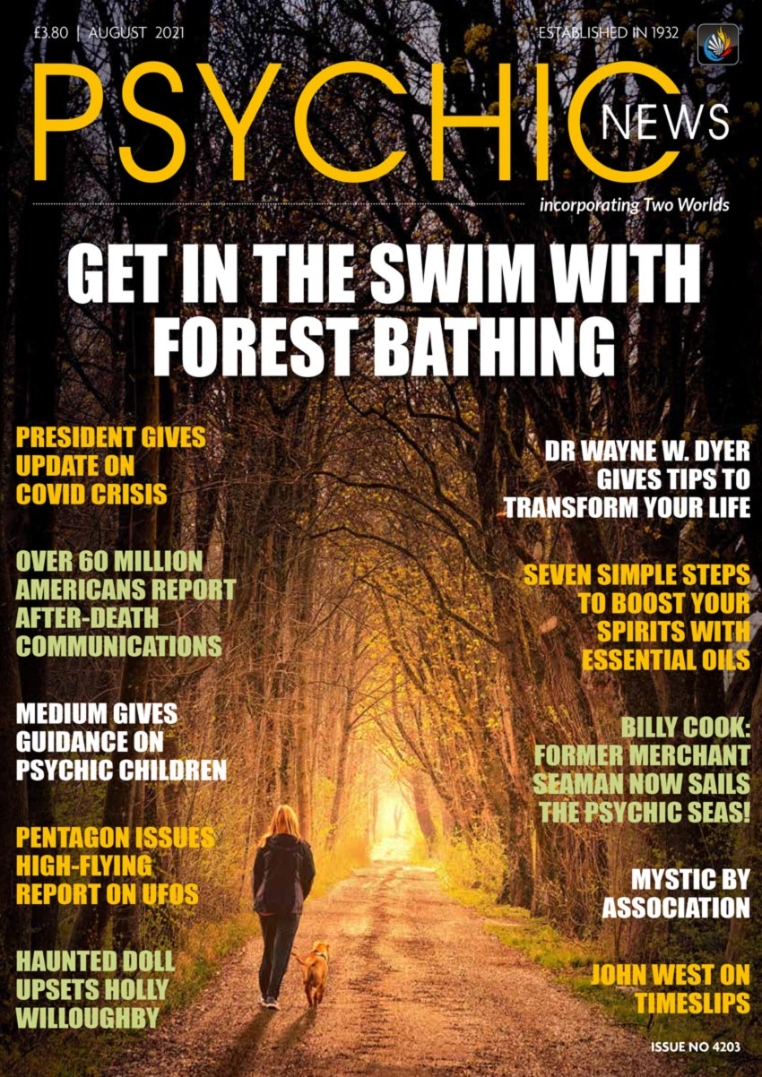 Psychic News - August 2021 Cover136-August-2021-FRONTPAGE