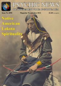 psychic newsR The IndependenT VoIce of SpIrITualISm Issue no 4090	magazine Twenty-four 2012	£1.40 (fortnightly)