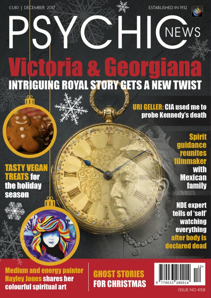 Psychic News - December 2017 Cover92-december2017-FRONTPAGE
