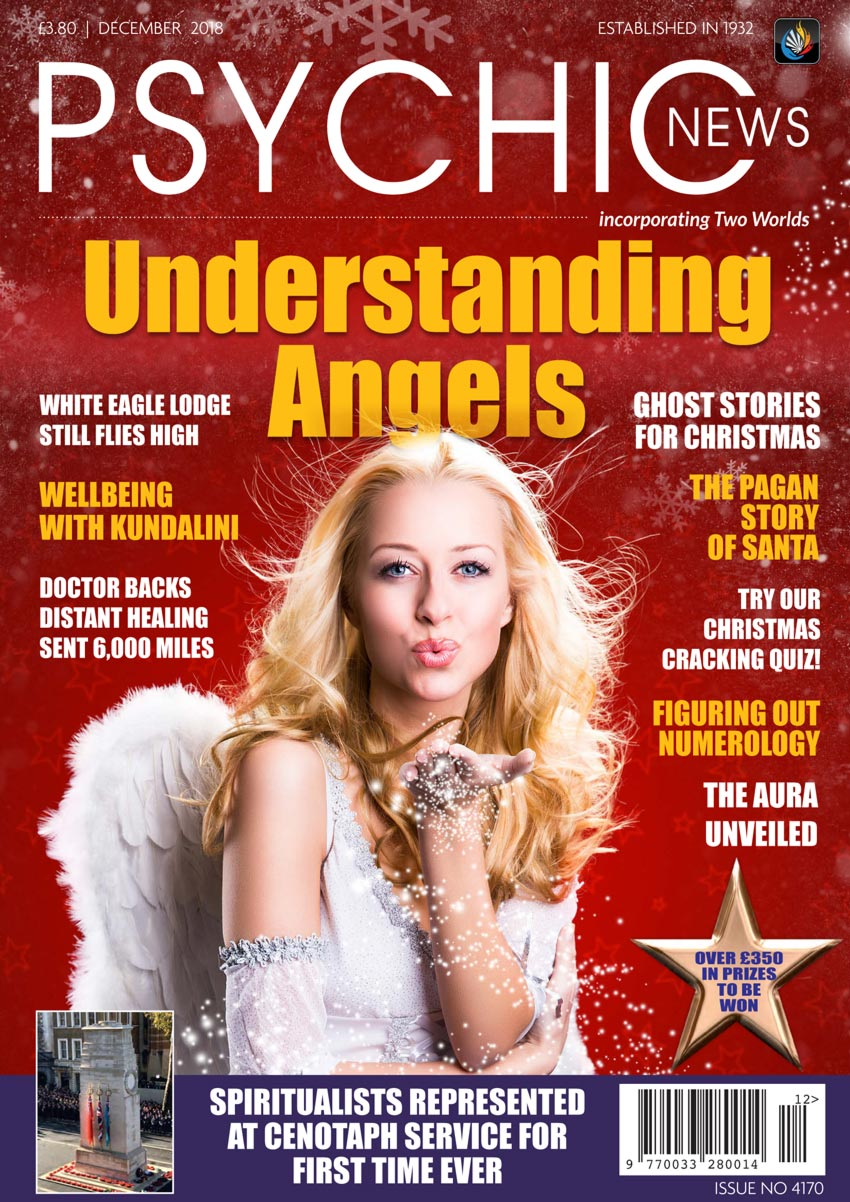 Psychic News - December 2018 Cover104-December-2018-FRONTPAGE