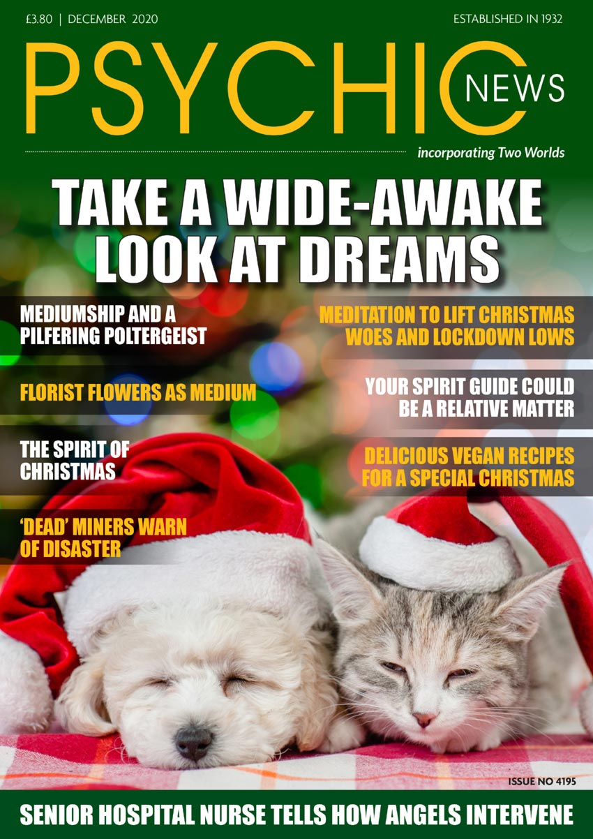 Psychic News - December 2020 issue Cover128December-2020-FRONT