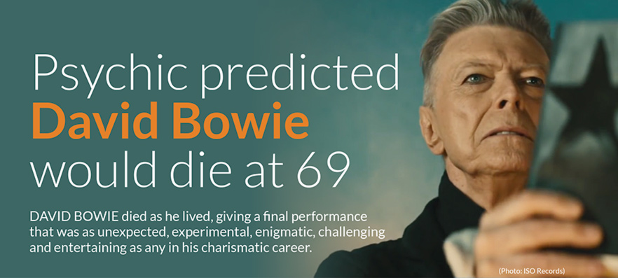 Psychic predicted 