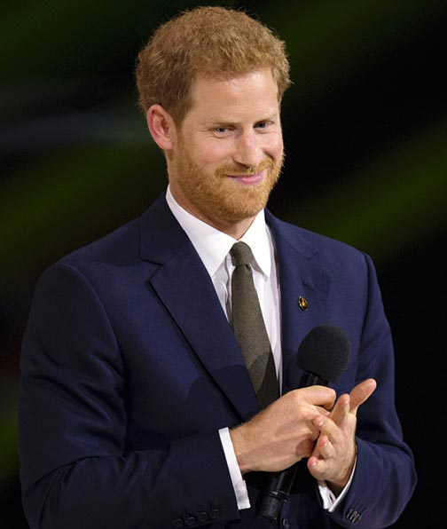IT has emerged that Prince Harry is now meditating on a daily basis.  (Photo: DoD News / EJ Hersom)