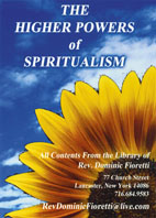 higher powers of spiritualism