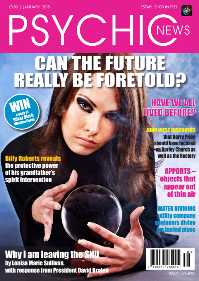 Psychic News - January 2018 Cover93-january2018-FRONTPAGE