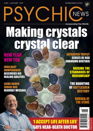 Psychic News - January 2019 issue Cover105-January-2019-big