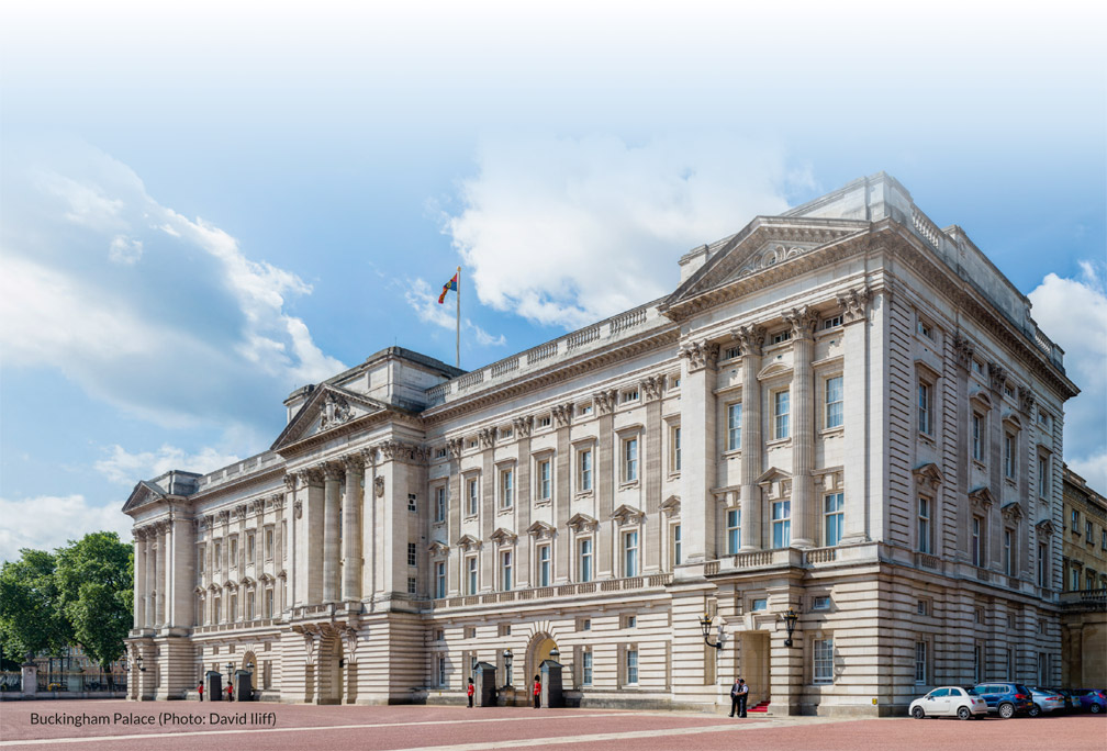Buckingham Palace (Photo: David Iliff)