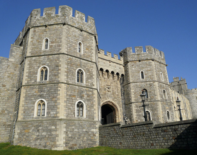 King Henry VIII Gate at Windsor Castle (Photo: Thomas Duesing)