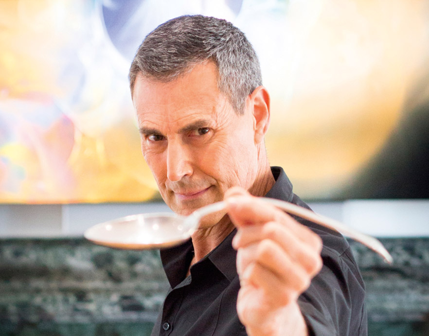 Uri Geller – Photo: Glyn Ridgers