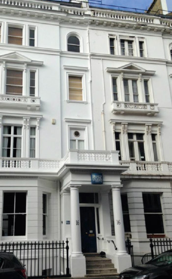 16 Queensberry Place, home of the College of Psychic Studies since 1925