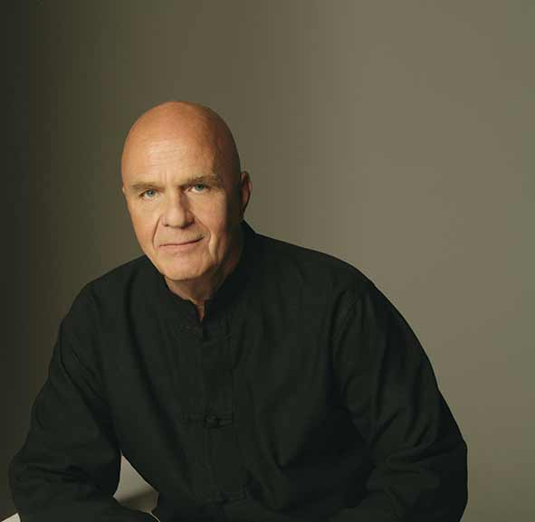 Internationally renowned author and motivational speaker Dr Wayne W. Dyer