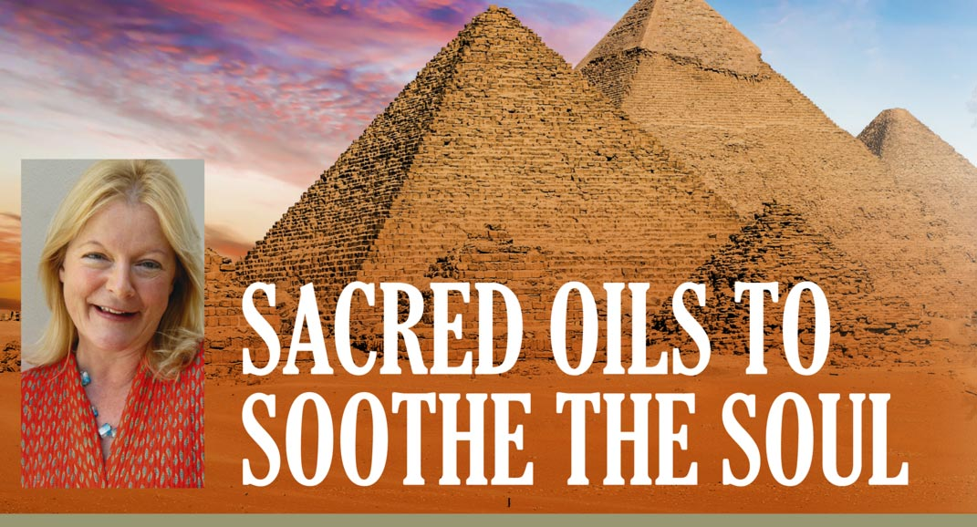 Sacred oils to soothe the soul