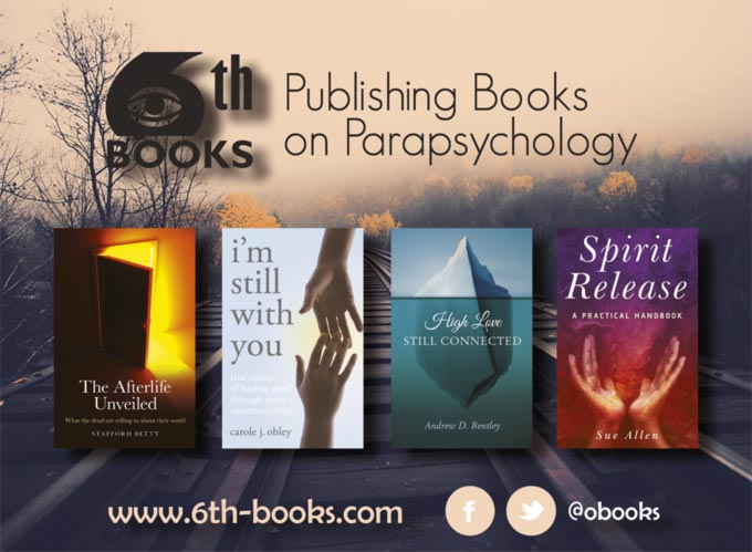 Bestsellers 6th Books – 6th Publishing Books on Parapsychology – www.6th-books.com – @obooks